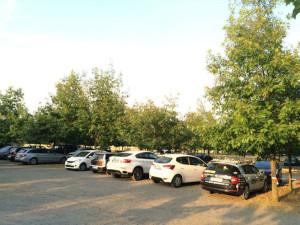 parkoviště jezero lhota